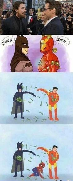 Superhero battle!
