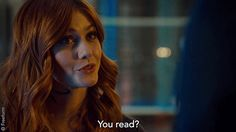 Alec's reaction though. #Shadowhunters