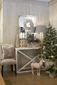 Cute Christmas display by Interior Philosophy Atlanta GA