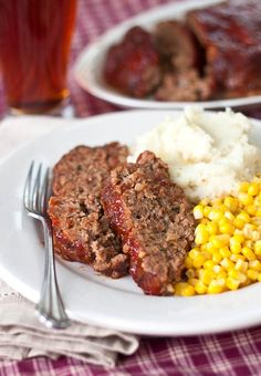 All-Beef Meatloaf......Apple cider vinegar is added to ketchup for some tang, brown sugar for a bit of sweetness, and ground coriander for a bright burst of freshness.