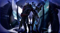 Mass Effect III 25x14 inch Plastic Poster Kunststoff Plakat - Wasserdicht - Anti-Fade - Kann auf den Außenbereich/Garten/Badezimmer - 7PPA1C6