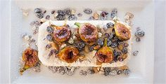 Try this Christmas Pudding Ice Cream with Caramelised Fresh Figs recipe by Chef Peter Gilmore. Fig Recipes, Pudding Recipes, Cooking Recipes, Christmas Pudding Ice Cream, Fig Dessert, Australian Christmas, Fresh Figs, Dried Cherries, Frozen Desserts