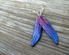 I love feather earringss