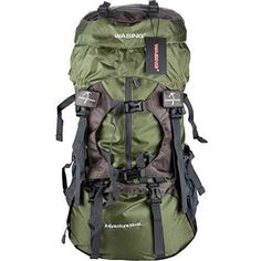 f660959d87 WASING Internal Frame Backpack Hiking Backpacking Packs for Outdoor Hiking  Travel Climbing Camping Mountaineering with Rain Cover     Don t get left  behind