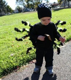Super-Crafty Halloween Costume Contest u2014 vote now! & DIY: Easy NO-SEW Spider Costume!!! (u2026plus one to GIVE AWAY!) (Make ...