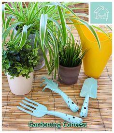 Διαγωνισμός Small Things  με δώρο ένα σετ μεταλλικών εργαλείων κήπου - http://www.saveandwin.gr/diagonismoi-sw/diagonismos-small-things-me-doro-ena-set-metallikon-ergaleion-kipou/