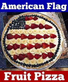 American Flag Fruit
