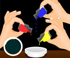 queen colour mixing chart food coloring mixing chart gonna try this with other craft items. Black Bedroom Furniture Sets. Home Design Ideas
