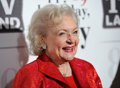 Betty White- a woman of substance who goes through life with grace and good humour. If you aren't a Betty fan, I'm not sure we can be friends... :)