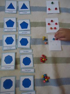 Umamah Learning Academy: Polygon Nomenclature Cards Extension