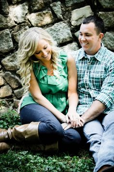Engagement picture - photography by Megan Oley