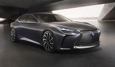 Cars - Lexus LF-FC concept : prémisse d'une future berline à hydrogène... - http://lesvoitures.fr/lexus-lf-fc-concept-premisse-dune-future-berline-a-hydrogene/