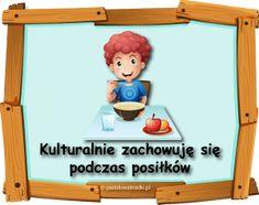KODEKS PRZEDSZKOLAKA - nowe ilustracje - materiały do pobrania - Pastelowe Kredki Toy Chest, Family Guy, How To Plan, Toys, Storage, Frame, Fictional Characters, Decor, Activity Toys