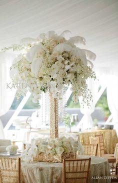 Gatsby flavored ~ Photography: Allan Zepeda // Floral Design: Karen Tran