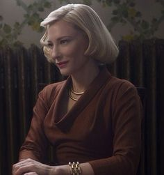 Cate Blanchett in Carol Cate Blanchett Carol, Kirsten Dunst, Film Serie, Best Actress, Vintage Hairstyles, Pretty People, Beauty Women, Actors & Actresses, Me As A Girlfriend