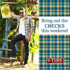 A checkered shirt is the most dynamic piece of clothing. Formal, to informal you can wear it almost anywhere.  Shop a one for yourself from U TURN