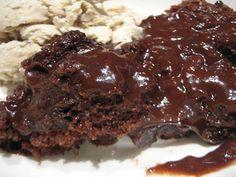 Easy Crock Pot Chocolate Cake | Crock Pot Molten Lava Cake