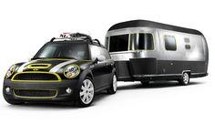 Mini Cooper S Clubman, Airstream Combo -- A Fritzified Beachfront Dream Machine