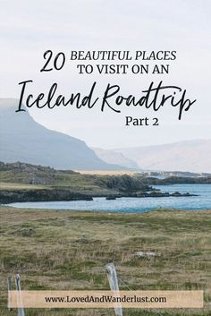 In case you missed it, you can find the first part of this post here, including places from South and East regions. Traveling further up North and West, you'll drive past gorgeous fjords, overflowing meadows, high mountains, low valleys and even dry lands… without a single soul around. We're talking…