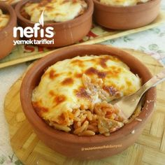 Harem Güveci – Güveç yemekleri – The Most Practical and Easy Recipes Best Cheeseburger Recipe, Turkish Kitchen, Food Quotes, Breakfast Items, Homemade Beauty Products, Iftar, Food Photo, Macaroni And Cheese, Food And Drink