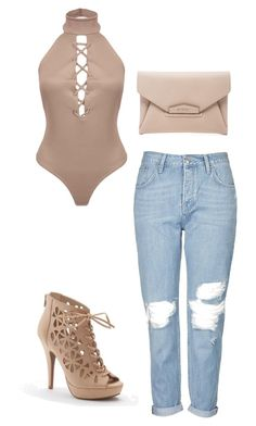 """""""Untitled #395"""" by outfits-by-jahan on Polyvore featuring Topshop, Apt. 9 and Givenchy"""
