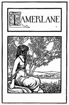 Tackling Poe: The Complete Works, Part 11 – Ariel Hudnall Simple Poems, The Complete Poems, Heath Robinson, Sitting In A Tree, American Literature, Edgar Allan Poe, Romanticism, Fairy Land, Illustrators