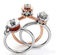 Single Diamond Ring, Diamond Rings, Diamond Jewelry, Jewelry Rings, Jewelery, Pretty Rings, Beautiful Rings, Engagement Jewelry, Wedding Jewelry