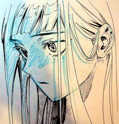 Drawing Tips, Drawing Reference, Comic Illustrations, Doodle 2, Manga Art, Concept Art, Art Drawings, Original Art, Artsy