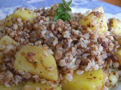 Raw Vegan, Vegan Vegetarian, Lunch Recipes, Healthy Recipes, Buckwheat Recipes, Low Fodmap, Polenta, Quinoa, Potato Salad