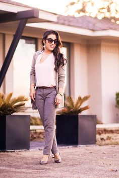 Winter Neutrals for Work | Cute and Little