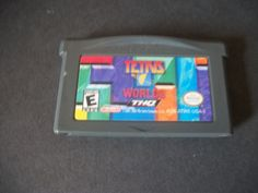 Tetris Worlds  (Nintendo Game Boy Advance, 2001) - Cleaned & Tested *FREE SHIP