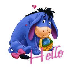 Eeyore Cartoon Winnie the Pooh Disney Winnie The Pooh, Winne The Pooh, Winnie The Pooh Quotes, Baby Disney, Eeyore Pictures, Cute Pictures, Eeyore Images, Pooh Bear, Tigger