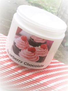 Stock Up On This Mouth Watering Raspberry N Chocolate Shea Butter Body Lotion Apply All