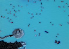 100 degree Blue Lagoon in Icelandd on Elves and Trolls tours
