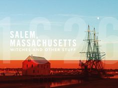 Salem, Massachusetts. My birth place done beautifully by Dan Cederholm.