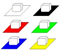 Place ice cubes in the sun on different colored sheets of paper to see which one melts fastest