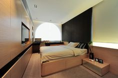 Castle Peak Road House (Hong Kong) modern bedroom