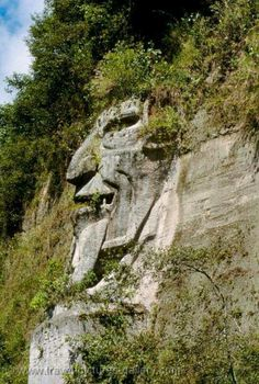 Doesn't exist in Ecuador, or anywhere else. Goes around labeled as, Ecuador - Saquisili - la Cara del Diablo, the Devil's Face Ecuador, Equador Quito, Galapagos Islands, Parc National, Natural Phenomena, Amazing Nature, Mother Nature, South America, Places To See