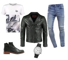 leather, jeans, men, style