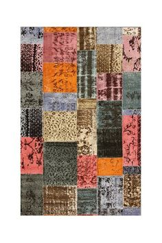 Patchwork area rug by nuLOOM