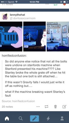 Tale of Two Stans Gravity Falls Theory, Gravity Falls Comics, Pixar, Gavity Falls, Alex Hirsch, Fan Theories, Bill Cipher, Trust No One, Billdip