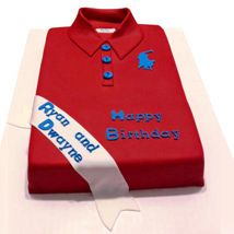Classic Red Polo Cake