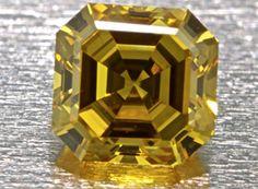 .33ct fancy vivid yellow diamondYellow Diamond