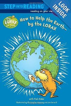 """""""How to Help the Earth - by the LORAX"""" to earn the Rosie petal - Make the World a Better Place."""