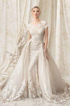 Courtesy of Justin Alexander Wedding Dresses Signature Collection; www.justinalexander.com; Wedding dress idea. #weddingdress