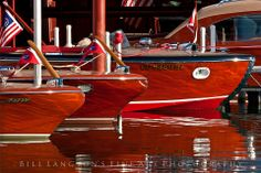 Classic wooden boats, Lake Tahoe....