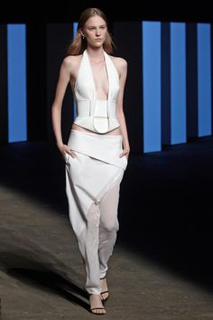 Dion Lee, New York, Spring 2014. Love the top.