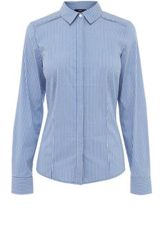 oasis blue stripe shirt
