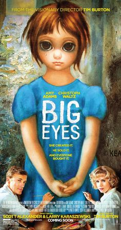 Big Eyes. Abril 2015