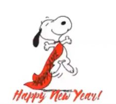 Snoopy Happy New Year, Snoopy Happy Dance, Happy New Year Baby, Happy New Year Text, Happy New Year Quotes, Happy New Year Greetings, Snoopy Love, New Year Wishes Images, New Year Gif